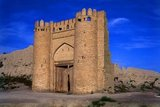 The Tallipach gate is one of only two gates remaining from the old city walls of Bukhara. At one point there were 11 gates. The gate dates from the 16th century.<br/><br/>  Bukhara was founded in 500 BCE in the area now called the Ark. However, the Bukhara oasis had been inhabitated long before.<br/><br/>  The city has been one of the main centres of Persian civilization from its early days in 6th century BCE. From the 6th century CE, Turkic speakers gradually moved in.<br/><br/>  Bukhara's architecture and archaeological sites form one of the pillars of Central Asian history and art. The region of Bukhara was for a long period a part of the Persian Empire. The origin of its inhabitants goes back to the period of Aryan immigration into the region.